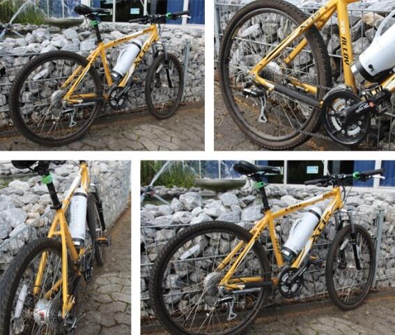 Fahrrad mit vielen Gewindearten