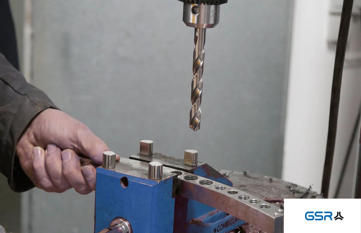 Bohren in Metall, Metall Spiralbohrer