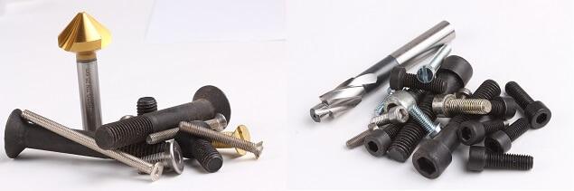 Senkwerkzeuge zum Entgraten: Kegelsenker und Flachsenker