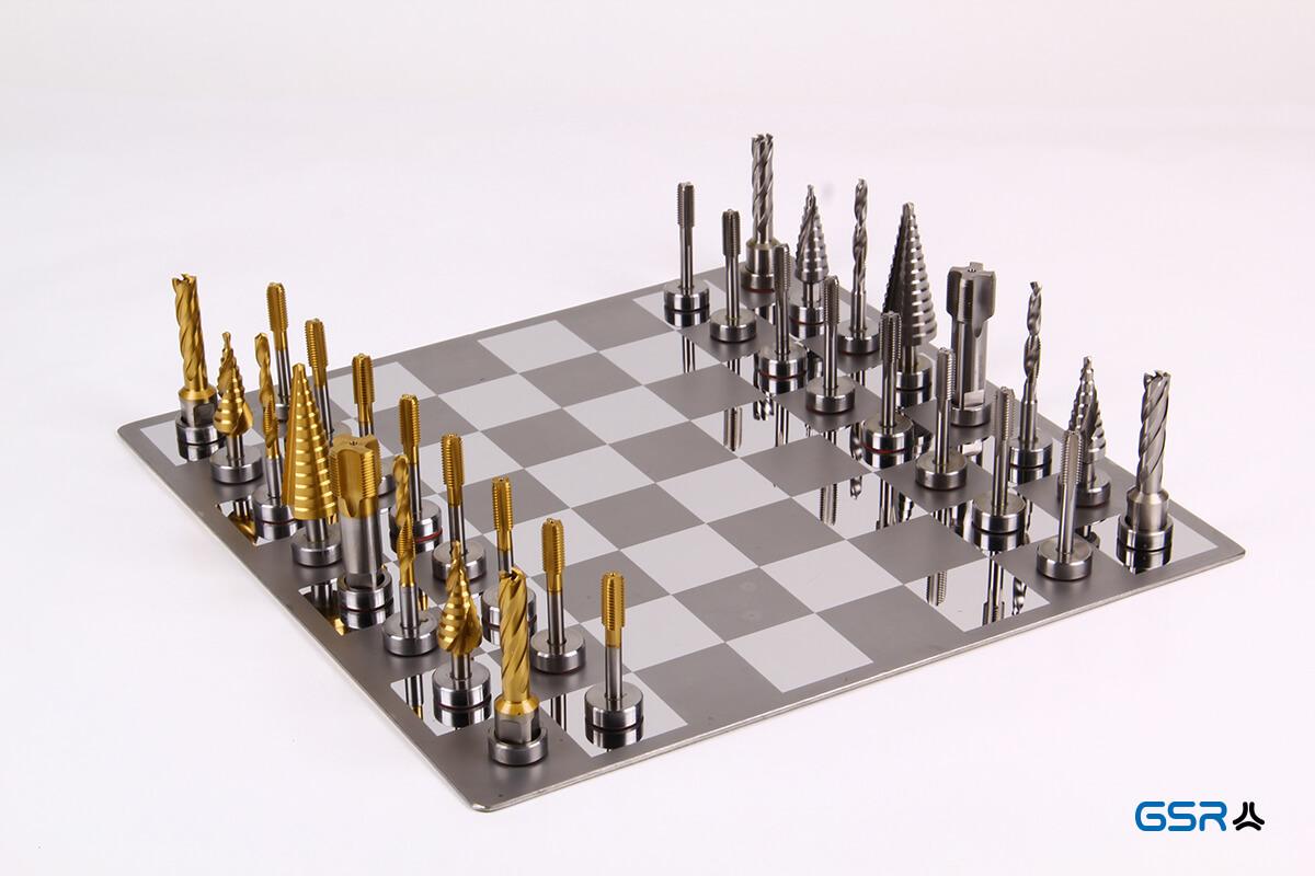 GSR-Gewindebohrer-Schachplatte: Gewindebohrer, Spiralbohren und Stufenbohrer